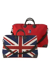 Travel bag UK flag