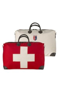 Travel bag Swiss flag