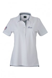 Women's fitted polo shirt available until stock lasts