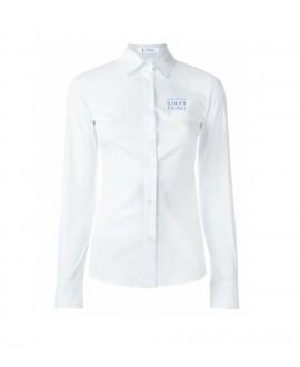 Girl long sleeved Oxford shirt