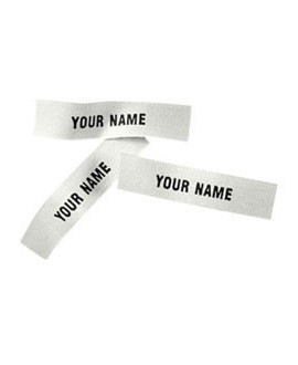 Iron-on name tags (60 pieces)